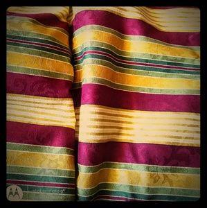 Jacquard Striped Home Decor Fabric